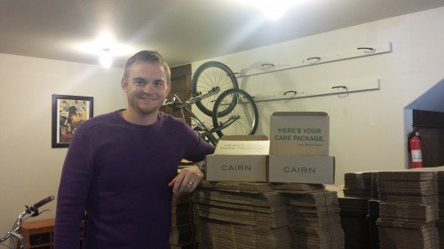 Rob Little, CEO and founder of Cairn, a subscription box for outdoor enthusiasts.