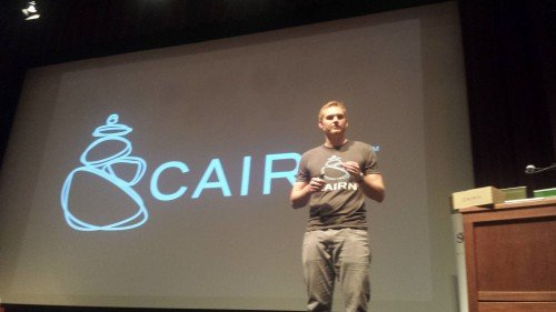 Rob Little, founder of Cair, at the 2014 BVC.