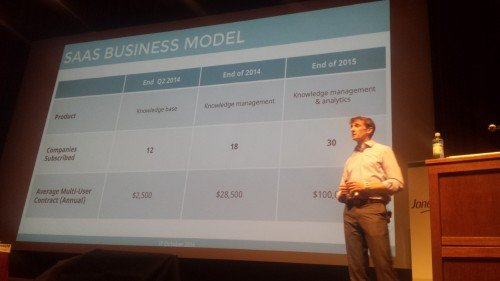 Adam Carroll, CSO of Amplion, BVC Launch Stage Winner.