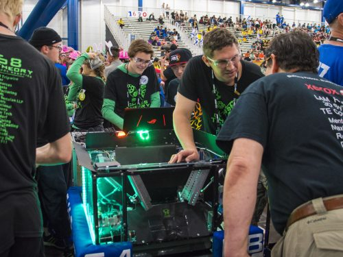Summit High School Robotics Team, BendTech