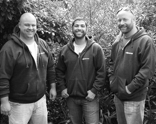 CodePen co-founders: Chris, Alex and Tim.